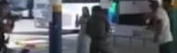 VIDEO: Israeli Security Takes Down Knife-Wielding Terrorist
