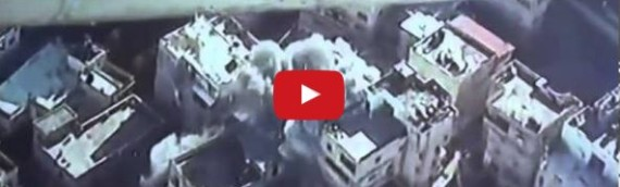 Police Release Footage of Terrorists Home Being Blown Up