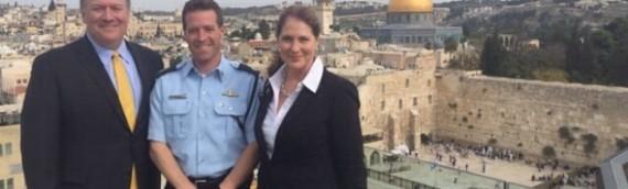 Kansas Congressman Views Jerusalem's Security Situation Up Close
