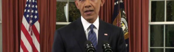 Obama Blows Hot Air in Oval Office Speech on War on Terror