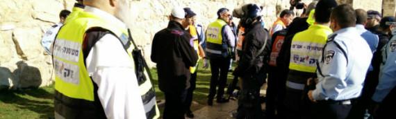 In Defiance of New Rule, ZAKA Treats Victim Before Terrorist
