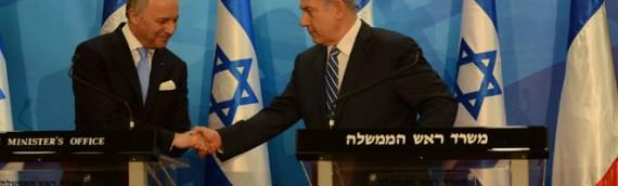 France Attempts to Force Israel to Negotiate With PA