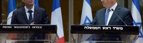 """PA and France Team Up Against Israel to Push for """"International Peace Conference"""""""
