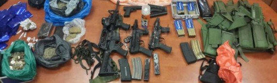 Ultra-Orthodox Soldiers Capture Large Weapons Stash Near Beit El