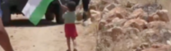 VIDEO: A Palestinian Father Who Sent His Toddler to be Shot