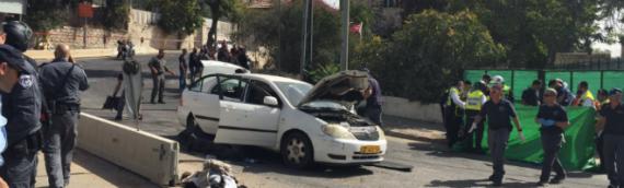 Shooting Terror Attack in Jerusalem