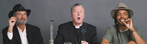 Viral Video: Priest, Rabbi and Atheist Smoke Weed and Talk About God [WATCH]