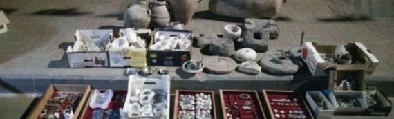 Second-Temple Antiquities Hoard Found in Bust of Arab Village