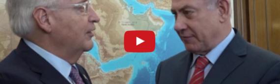 "Netanyahu Welcomes Ambassador Friedman to ""Our Eternal Capital"""