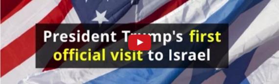 Israel Welcomes U.S President Trump