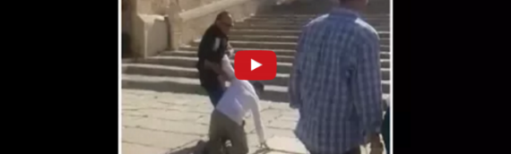 "VIDEO: ""Heart Is Broken"" as Jews Forbidden to Pray on Temple Mount During Waqf Boycott"
