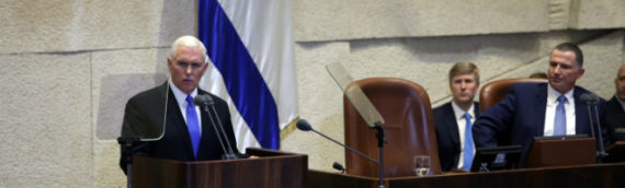 Pence's Biblical Knesset Address Affirms America's Christian Connection to Israel