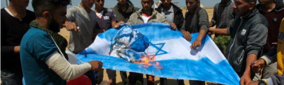 Israeli Flag Burning: IDF Braces For Third Week of Gaza Protests