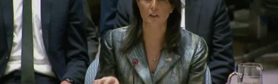 Haley Decries 'Morally Bankrupt' UN