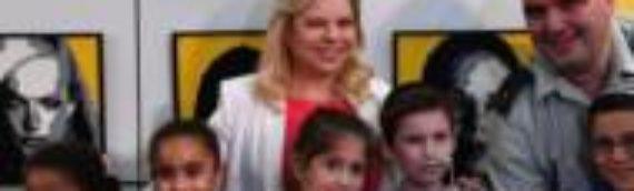Sara Netanyahu Brings Hope to Children Who Endure Arson Terror