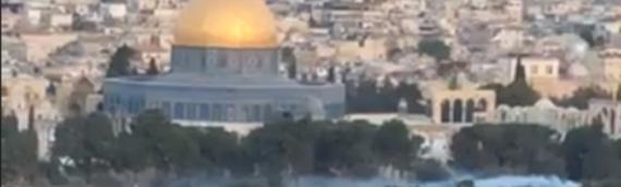 Rabbi: Strange Mist on Temple Mount Is War on Spiritual Plane [VIDEO]