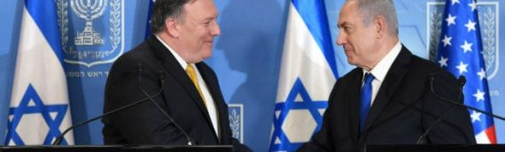 "Pompeo on Possible Military Conflict With Iran: ""Israel can certainly count on the U.S.A."""