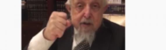 VIDEO: 'Everyone Must Do a Spiritual Accounting,' Warns Rabbi Before Succumbing to Corona