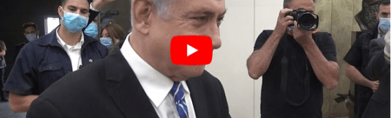Before Trial, Holocaust Survivor Blesses Netanyahu with Passage from Deuteronomy