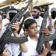 Palestinian child soldiers