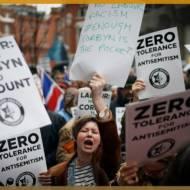Protest anti-Semitism UK