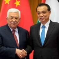 Mahmoud Abbas, Li Keqiang