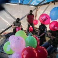 Indenciary balloons