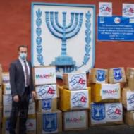 Israeli Aid Corona