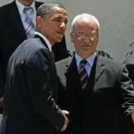 Barack Obama, Saeb Erekat
