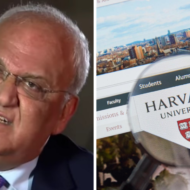 Harvard hires Saeb Erekat