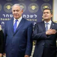 Netanyahu president honduras