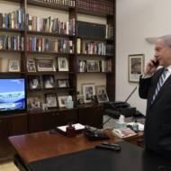 Netanyahu phone Tal Becker Abu Dhabi