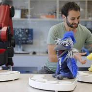 Omer Gvirtzman and the group of social robots