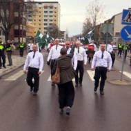 Sweden Neo Nazis Protester