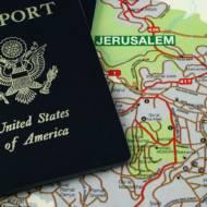 US Passport Jerusalem