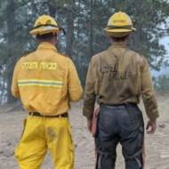 Israeli Californian firefighters