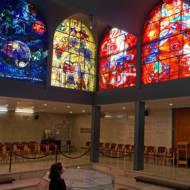 Hadassah hospital Chagall windows