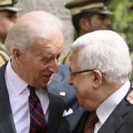 Joe Biden Mahmoud Abbas