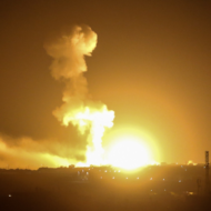IDF Pounds Hamas