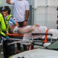 Palestinian terror rocket attack
