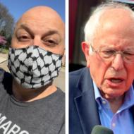 Bernie Sanders and Amer Zahr